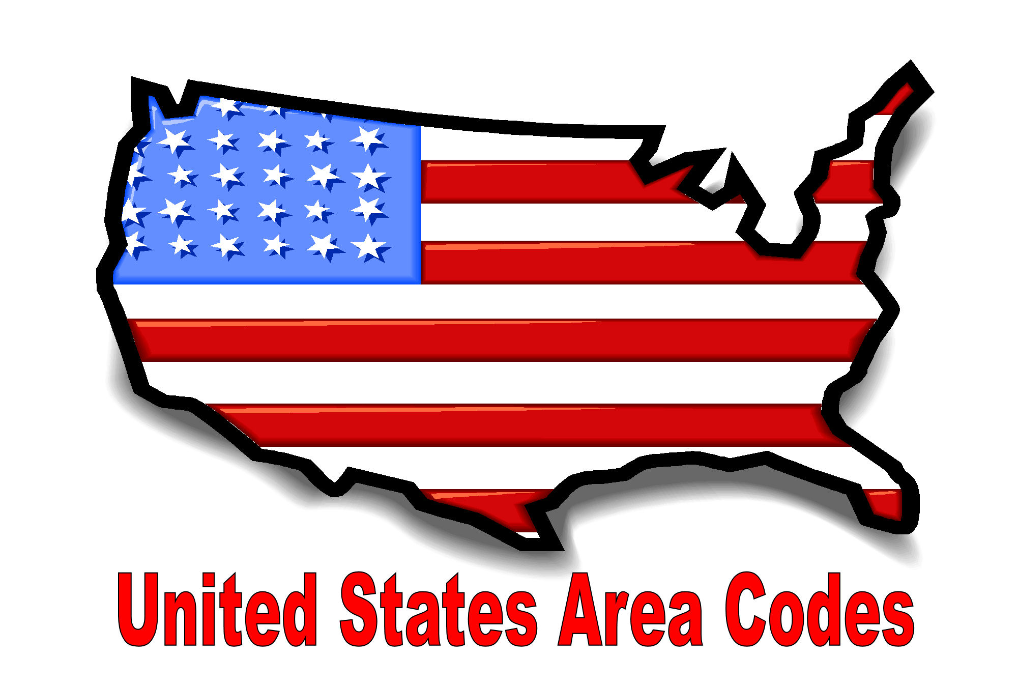Printable area code listing by State and Number from UnitedStates-AreaCodes.com